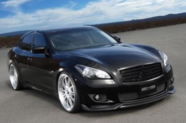 Access Evolution Front Lip Spoiler (CFRP) for Nissan Type-S Fuga Sedan (Y51)