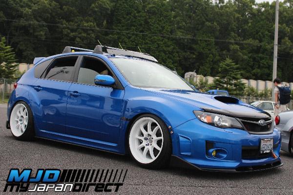 Shorin Front Lip Spoiler (FRP) For Subaru WRX/STi (GRB)