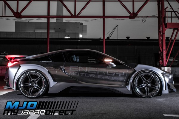Energy Motor Sports Evo I8 Complete Kit Frp W Cfrp Wing For Bmw I8