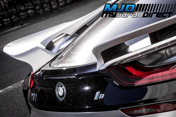 Energy Motor Sports Evo I8 Rear Wing Frp For Bmw I8 2014 Present