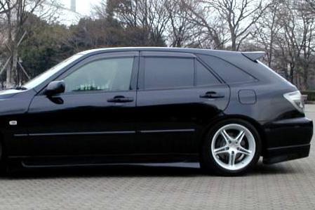 Elixir Rear Roof Spoiler Frp For Lexus Is300 Wagon Los