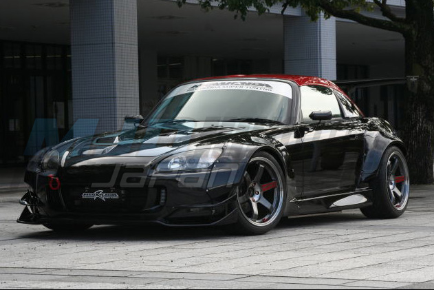 M Amp M Honda Hyper Wide Body Kit Frp For Honda S2000 Ap1