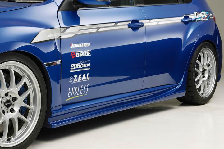 Ings 1 Subaru Impreza Grb 2007 10 N Spec Side Step Frp Los Angeles Ca Japan Parts Jdm And
