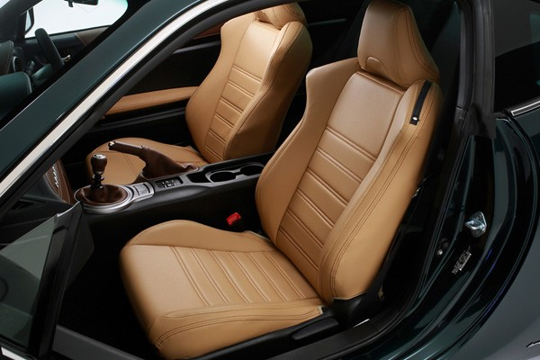 Damd Vantage86 Premium Fit Seat Covers Tan Brown Stitch For Scion FR S ZN6