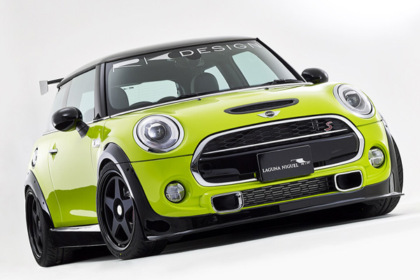 Rk Design 5p Wide Body Aero Kit Frp For Bmw Mini Cooper