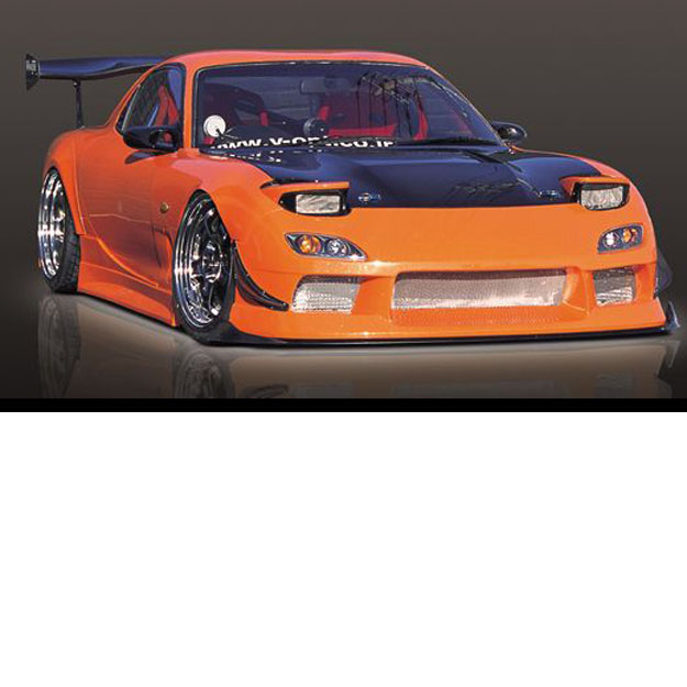 M Sports 3P Aero Set (FRP) For Mazda RX 7 (FD3S)