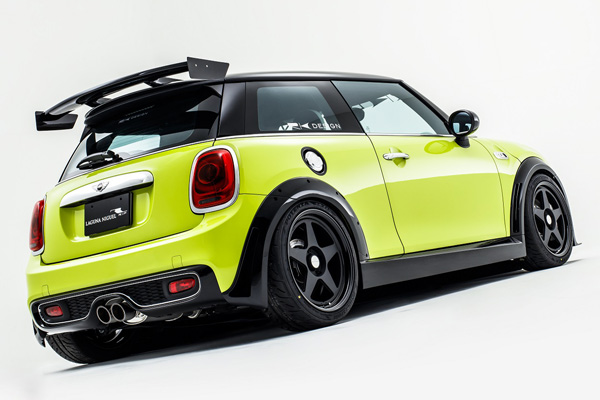 Rk Design Rear Wing Abs Winglet For Bmw Mini Cooper S
