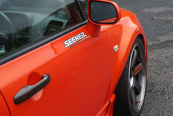 Seeker Ultimate Wide Body Kit Frp For Civic Type R Fd2
