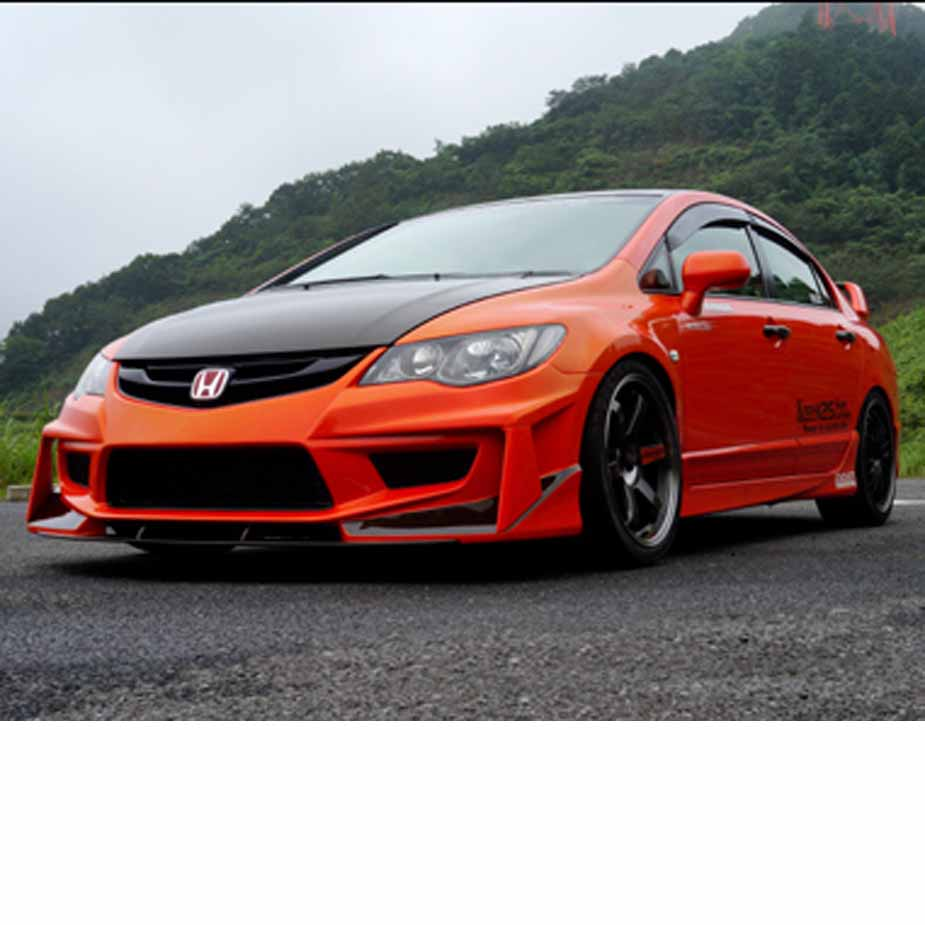 Seeker Ultimate Wide Body Kit (CFRP/FRP) for Civic Type-R (FD2)