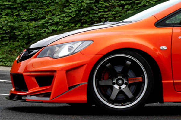 Seeker Ultimate Wide Body Kit (FRP) for Civic Type-R (FD2)