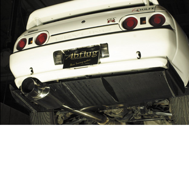 Abflug Rear Diffuser Cfrp For Nissan Skyline Gt R R32