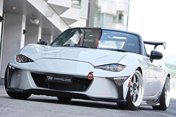 Garage Vary Front Bumper Frp For Miata Mx 5 Nd
